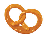 Multa do pretzel Imagem de Stock