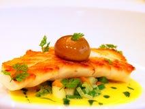 Multa jantando o prato Imagem de Stock