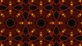 Multi картина калейдоскопа цвета с сильно абстрактными формами бесплатная иллюстрация