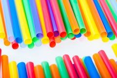 Multi коктеил Starws цвета Стоковая Фотография RF