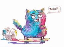 Multi кот цвета Стоковые Фото