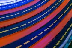 Multi майны гонок с светом СИД для ребенк забавляются гонки автомобиля Стоковое Изображение