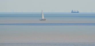 Multi покрашенное море Стоковое Изображение