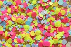 Multi покрашенные Sequins для дизайна ногтей glitter Фольга для стоковое фото