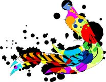Multi покрашенный фазан Стоковая Фотография RF