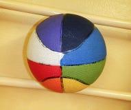 Multi покрашенный шарик баскетбола Стоковые Фото