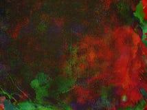 Multi предпосылка текстуры краски цвета Стоковые Фотографии RF
