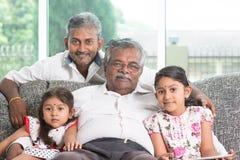 Multi семья поколений Стоковое Изображение