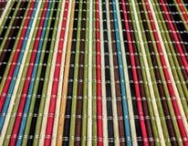 Multi циновка таблицы цвета Стоковая Фотография