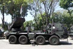 Multi система ракеты старта Стоковая Фотография