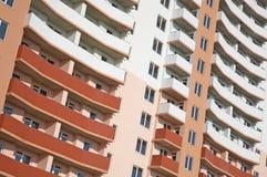 Multi-apartments building Royalty Free Stock Photos