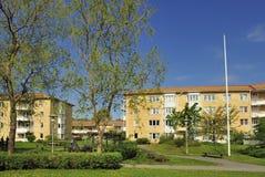 Multi-apartments buildings Stock Image