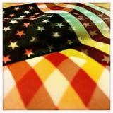Multi bandiera degli Stati Uniti di esposizione Immagini Stock Libere da Diritti