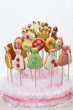 Multi biscoitos da cor Fotos de Stock