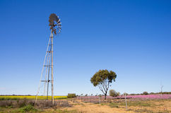 Multi-bladed windpump Royalty Free Stock Photography