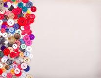 Multi botões coloridos na tela Imagem de Stock