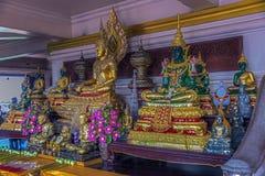 Multi buddha statues Stock Photo