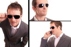Multi business man Stock Image