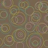 Multi círculos do fundo Fotografia de Stock Royalty Free