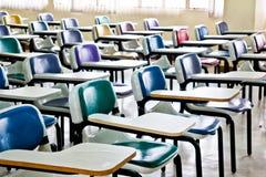 Multi cadeiras coloridas Fotos de Stock Royalty Free