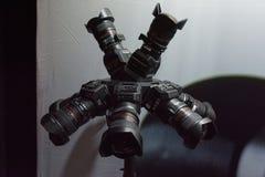Multi-camera 360 VR-systeem Stock Foto's