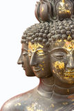 Multi-caras aisladas Buda Foto de archivo libre de regalías