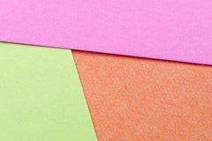 Multi carta di colore Fotografia Stock Libera da Diritti