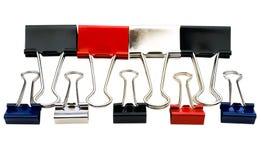 Multi clip colorati Immagine Stock Libera da Diritti