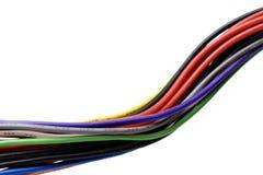Multi collegare colorati Fotografia Stock Libera da Diritti