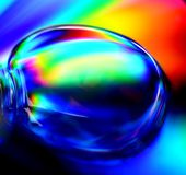 Multi-Color background light reflection Royalty Free Stock Photo