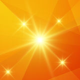 Multi-color background. Neon image - abstract orange background Stock Photography