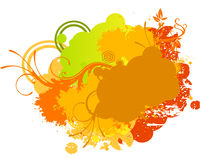 Multi color background Stock Images