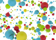 Multi color balls Royalty Free Stock Photography