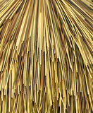 Multi color bamboo cane. Closeup as background Stock Photo