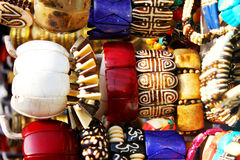 Multi color bangles royalty free stock photo