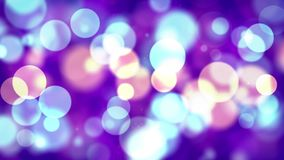 Multi color Blue Purple Abstract blinking glowing Glittering dust Particles loop
