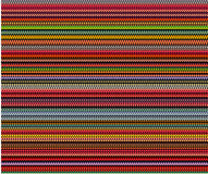 Multi color bubble lines pattern background over black Royalty Free Stock Photos