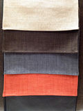 Multi color of fabric samples Royalty Free Stock Photos