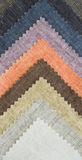 Multi color fabric texture samples Royalty Free Stock Image