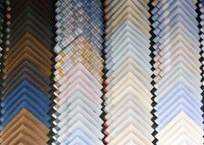 Multi-color folded handkerchief Stock Photography