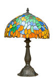 Multi color glass lamp. Stock Photos
