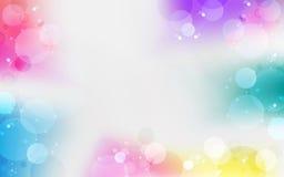 Multi color gradient vector background Stock Photos