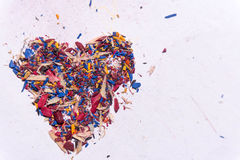 Multi-color Heart Stock Photography