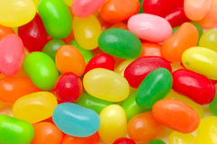 Multi Color Jelly Beans Royalty Free Stock Photography
