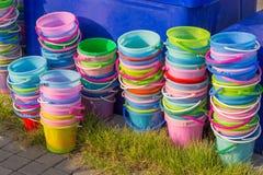 Buckets Stock Image