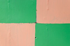 Multi color paint wall Royalty Free Stock Images