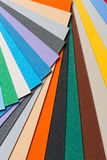 Multi color paper background Stock Photos
