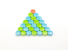Multi-color Pyramid Stock Photography