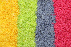 Multi color Rice Stock Images