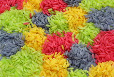 Multi color Rice Royalty Free Stock Image
